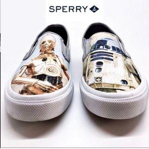 Women's Sperry Cloud Star Wars Droids Sneaker 8.5